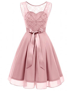 amelie dusky dusty blush pink lace chiffon short bridesmaid dress loulous bridal boutique ltd uk