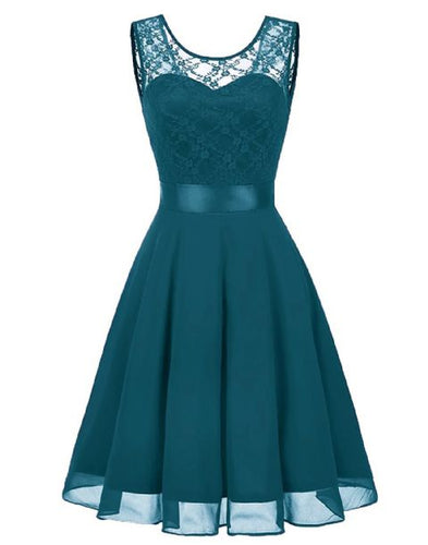 amelie teal green  lace chiffon short bridesmaid dress loulous bridal boutique ltd uk