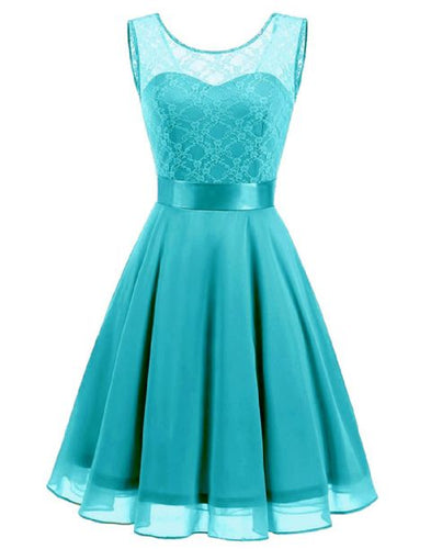 amelie turquoise blue lace chiffon short bridesmaid dress loulous bridal boutique ltd uk