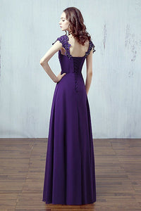 Caitlin cadbury purple Lace sequin beaded sleeve bridesmaid wedding prom dress loulous bridal boutique ltd uk