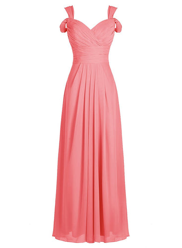 claire coral orange cold shoulder long bridesmaid wedding prom bridal dress loulous bridal boutique ltd uk