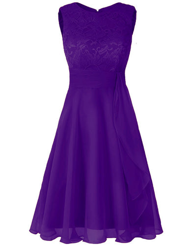 Clara - Cadbury Purple (Sample Dress - In Stock)