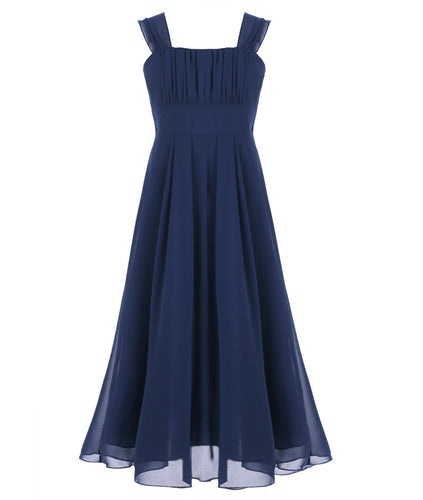 willow dark navy blue junior bridesmaid flower girl dress loulous bridal boutique ltd uk