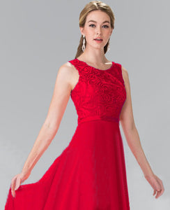 Heather Red Scarlet Crimson Lace chiffon long bridesmaid wedding bridal prom evening dress uk