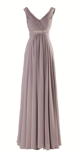 Henley Mink Taupe Coffee Grecian Chiffon long bridesmaid wedding bridal evening prom cruise ballgown formal occasion dress uk