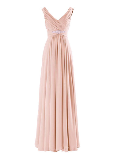 Henley Peach Grecian Chiffon long bridesmaid wedding bridal evening prom cruise ballgown formal occasion dress uk