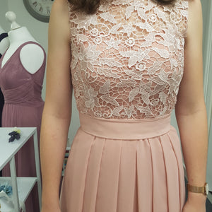 Lydia - Dusky Pink (Sample Dress - In Stock)