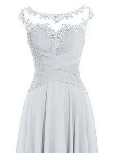 Jessica -  Silver Grey (Sample Dress - In Stock)