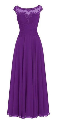 Jessica beau melanie cadbury purple lace chiffon long bridesmaid wedding bridal prom evening dress uk