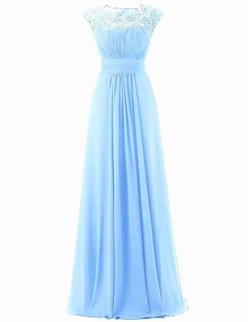 kelis katie pale light pastel  blue lace chiffon bridesmaid dress loulous bridal boutique ltd uk