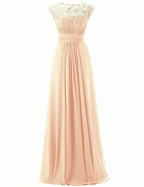 kelis katie peach blush lace chiffon bridesmaid dress loulous bridal boutique ltd uk