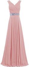 Leah dusky dusty blush pink crystal sequin long bridesmaid wedding bridal prom evening dress loulous bridal boutique ltd uk