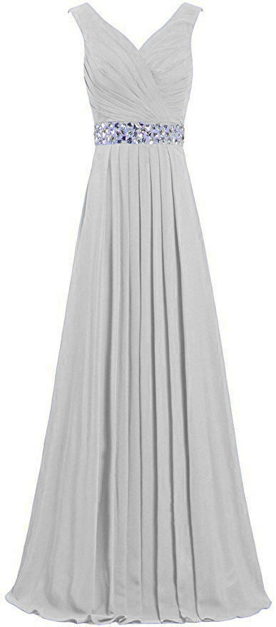 Leah silver light grey crystal sequin long bridesmaid wedding bridal prom evening dress loulous bridal boutique ltd uk