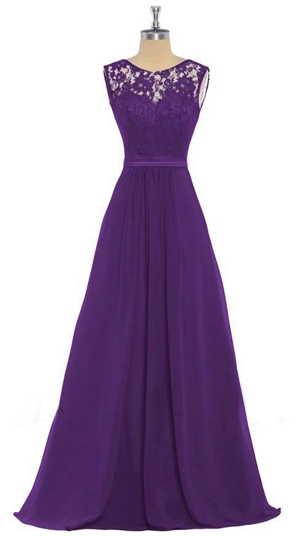 Lucy April Cadbury Purple Lace Chiffon Long Bridesmaid Wedding Bridal Prom Evening Ballgown Formal Occasion Cruise Dress UK Loulous Bridal Boutique