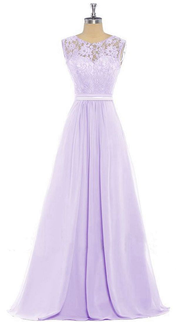 Lucy April Lilac Mauve Lavender Purple Lace Chiffon Long Bridesmaid Wedding Bridal Prom Evening Ballgown Formal Occasion Cruise Dress UK Loulous Bridal Boutique