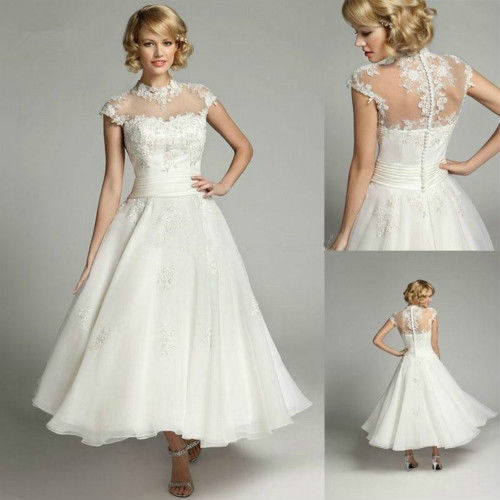 Sarah - Tea Length Wedding Dress