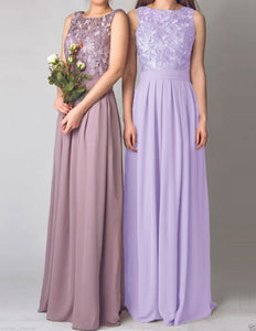 Lydia Lilac mauve lavender lace bridesmaid wedding prom cruise evening ballgown dress loulous bridal boutique ltd