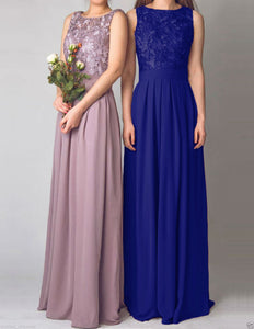 Lydia cobalt royal blue lace bridesmaid wedding prom cruise evening ballgown dress loulous bridal boutique ltd