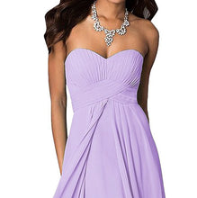 madison lilac strapless long bridesmaid prom evening wedding dress loulous bridal boutique uk