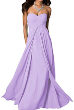madison pale pastel lilac mauve lavender chiffon strapless long maxi bridesmaid wedding bride bridal prom ballgown evening formal occasion dress uk