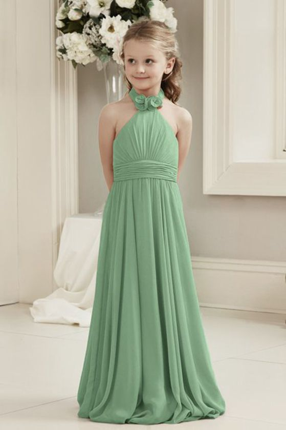 Mia Halter Neck - Sage Green (Sample Dress - In Stock)