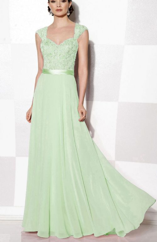 Olivia Pale Green Pistachio Mint lace chiffon beaded bridesmaid wedding bridal dress prom loulous bridal boutique uk