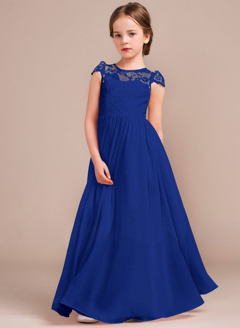 a3e23c4dd9c28 Royal Blue Bridesmaid Dresses With Yellow Flowers - raveitsafe