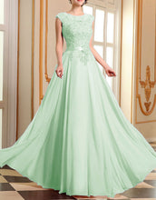 Ruby pale pistachio green lace chiffon long bridesmaid prom evening wedding bridal dress loulous bridal boutique ltd uk