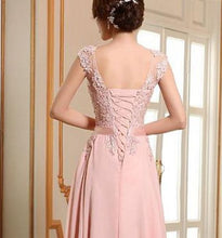 Ruby lace chiffon long bridesmaid prom evening wedding bridal dress loulous bridal boutique ltd uk
