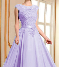 rUBY lilac lace chiffon long bridesmaid evening wedding bridal prom ballgown dress uk