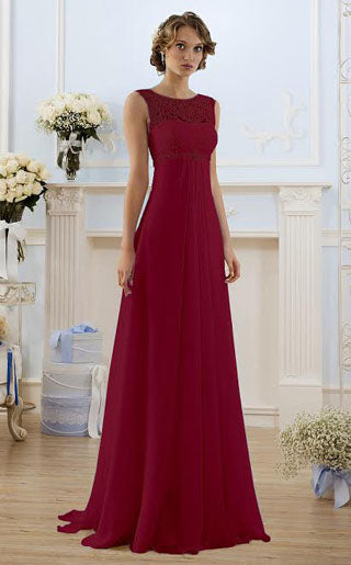 Yvette burgundy berry long bridesmaid prom evening wedding dress loulous bridal boutique uk