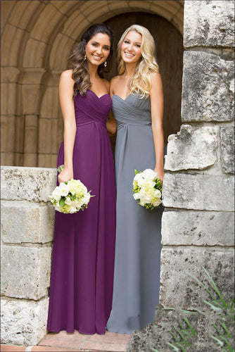 Callie aubergine eggplant purple strapless pleat chiffon bridesmaid wedding bridal dress uk loulous bridal boutique