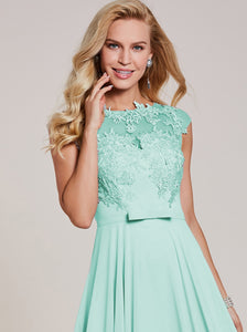 Christie mint green peppermint lace chiffon long evening formal occasion bridesmaid wedding prom bridal ballgown dress uk