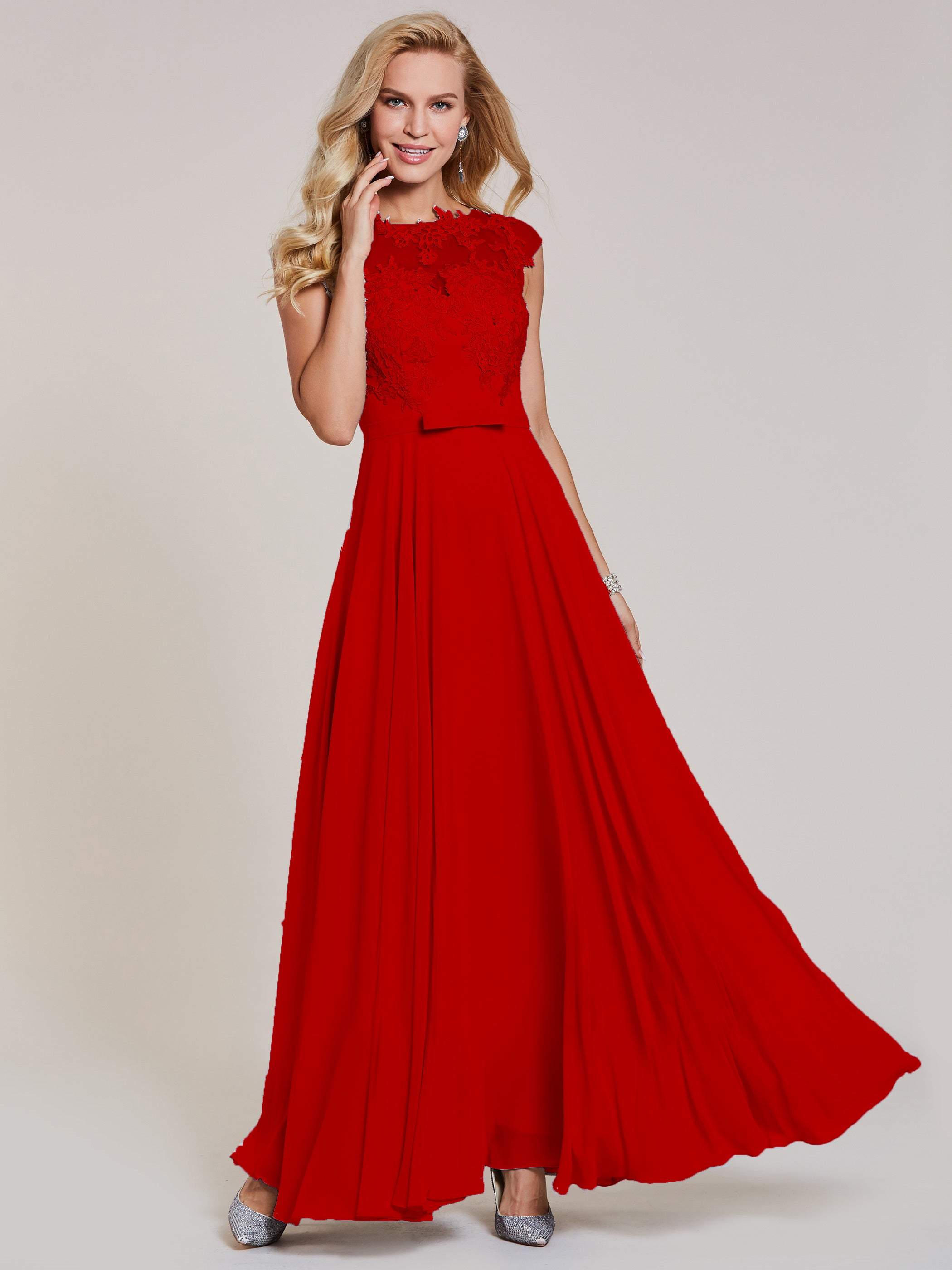 Red Wedding Dresses.Christie Red