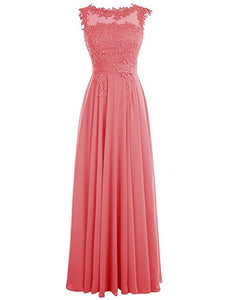 Francesca Coral lace chiffon beaded bridesmaid wedding prom dress uk loulous bridal boutique ltd