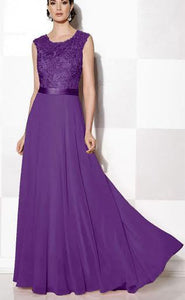 Purple Lace Wedding Dresses