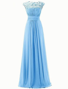 kelis katie cornflower sky blue lace chiffon bridesmaid dress loulous bridal boutique ltd uk