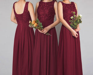 Lydia dark burgundy 1 wine claret maroon lace bridesmaid wedding prom cruise evening ballgown dress loulous bridal boutique ltd