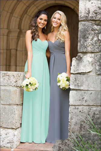 Callie pale mint green  strapless chiffon bridesmaid dress uk loulous bridal boutique ltd
