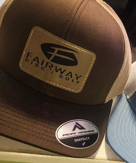 Fairway Leather Patch Hat 1F