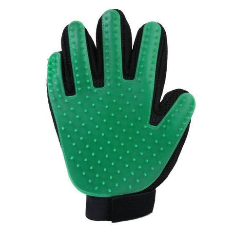 Image of Pet Grooming Gentle De-shedding Brush Glove