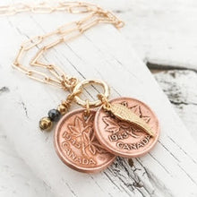 Load image into Gallery viewer, PENNIES FROM HEAVEN>>KEEPSAKE NECKLACE<<