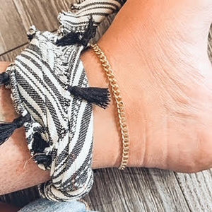 ANKLET>>LEXI CHAIN<<