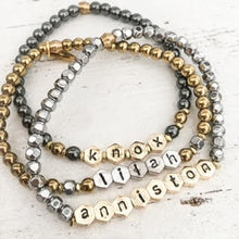 Load image into Gallery viewer, CUSTOM LETTER BRACELET⫷