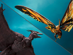 TAMASHII NATIONS Bandai S.H. MonsterArts Mothra (2019) & Rodan (2019) Set Godzilla King of The Monsters