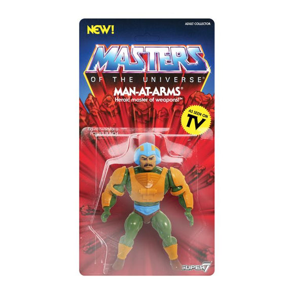 Super7 Masters of the Universe Vintage Wave 2 Collction Man-At-Arms Action Figure