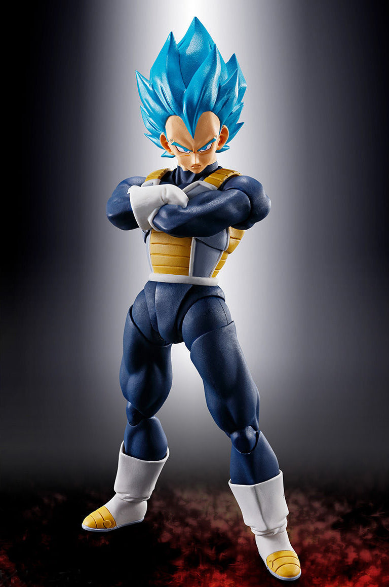 Bandai Tamashii Nations Dragon Ball Super Shfiguarts Super Saiyan God Super Saiyan Vegeta Figure