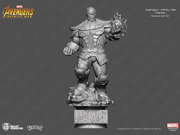 Beast Kingdom Marvel Avengers Infinity War D-Select DS-014 Thanos PX Previews Exclusive Statue
