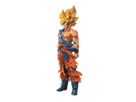 Banpresto Dragon Ball Z Super Master Stars Piece Manga Dimensions Super Saiyan Goku (Reissue)