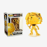 Funko Pop Marvel Studios 10th Anniversary Black Widow (Gold Chrome) Figure